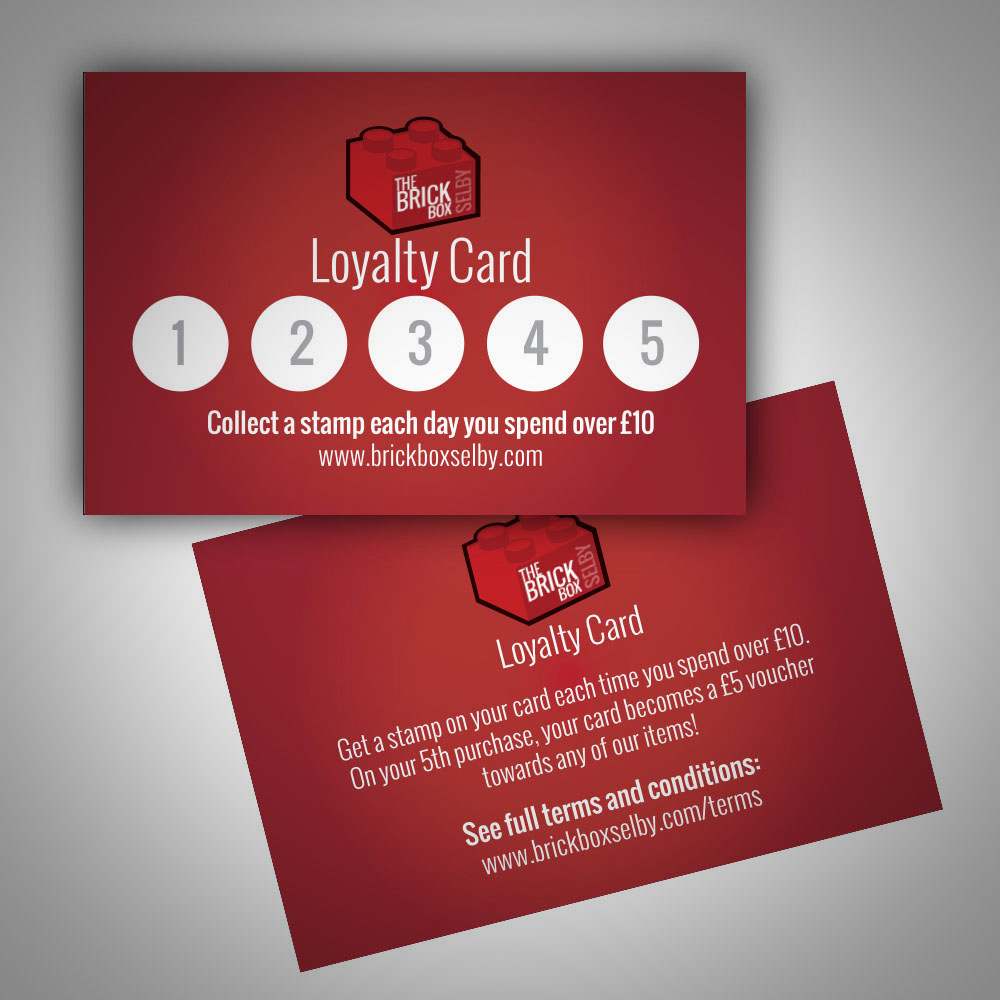Brick Box Selby Loyalty Card